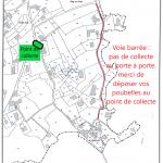 Le Guerzido : ramassage des poubelles au point de collecte